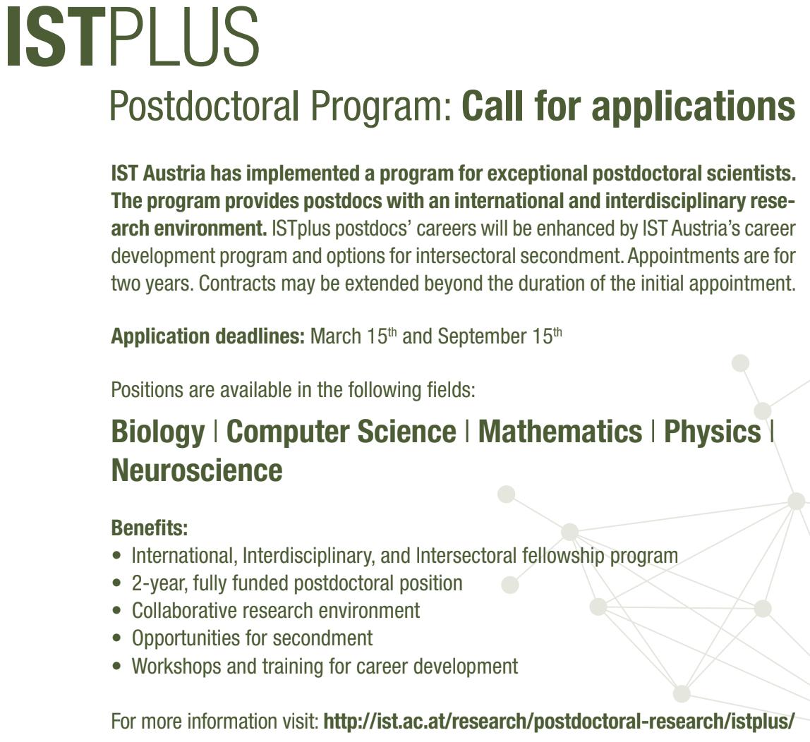 PostDoc Fellowships | Quantum IDs